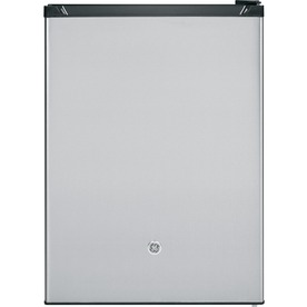 GE 5.6-cu ft Compact Refrigerator with Freezer Compartment (Stainless Steel) ENERGY STAR GCE06GSHSB