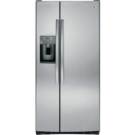 GE Stainless Steel Side-By-Side Refrigerator