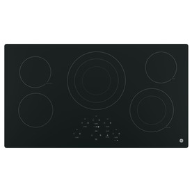GE 5-Element Smooth Surface Electric Cooktop JP5036DJBB