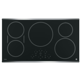 GE Profile 5-Element Smooth Surface Induction Electric Cooktop PHP9036SJSS
