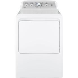Ge 7.2-Cu Ft Electric Dryer White Gtd45easjws