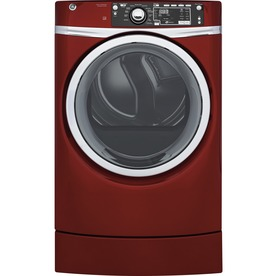 GE 8.3-Cu Ft Electric Dryer (Ruby Red) Energy Star Gfd49e...