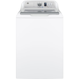 Ge 4.5-Cu Ft High Efficiency Top-Load Washer White Energy Star Gtw685bslws