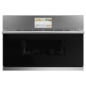 Ge Advantium 1.7-Cu Ft Built-In Microwave With Sensor Cooking Controls And Speed Cook Platinum Glass Csb923m2ns5