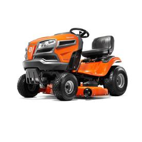 YTH22V46-CARB 22-HP V-twin Hydrostatic 46-in Riding Lawn Mower with Mulching Capability (Kit Sold Separately) CARB - Husqvarna 960450062