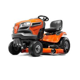 YTH24V48-CARB 24-HP V-twin Hydrostatic 48-in Riding Lawn Mower with Mulching Capability (Kit Sold Separately) CARB - Husqvarna 960450068
