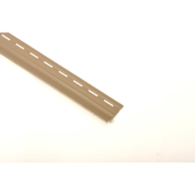 Shop 2 5 In X 10 Ft 2 In Brown Vinyl Vinyl Siding Starter