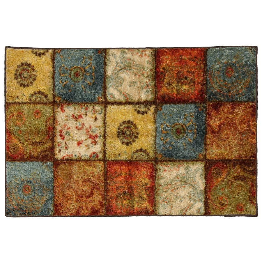Shop Mohawk Home Yellow Springs Patchwork Multi