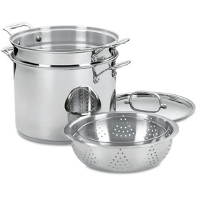 Cuisinart Chef's Classic Stainless Steel Cookware Set Wit...