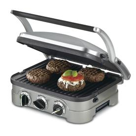 Cuisinart Griddler Multifunctional 13-In L X 11-In W Non-Stick Contact Grill Gr-4