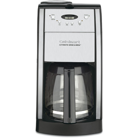 Cuisinart DGB-550BK Self-governing Grind and Brew Coffee Maker