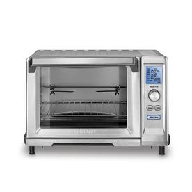 Cuisinart 6-Slice Stainless Steel Convection Toaster Oven with Rotisserie Auto Shut-Off TOB-200N