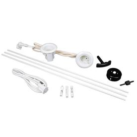 Shop Wiremold Flat Screen Tv Cords And Cable Power Kit At