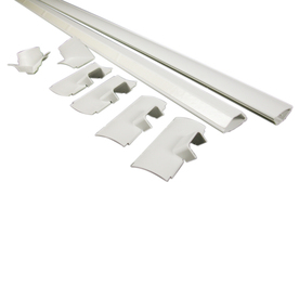 Shop Wiremold 1 1 2 In X 96 In Low Voltage White Cord