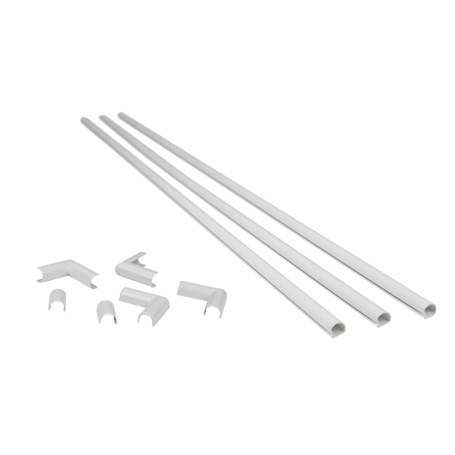 Shop Wiremold 1 2 In X 36 In Low Voltage White Cord Cover