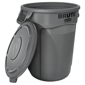Display Product Reviews For Brute Vented 44 Gallon Gray Plastic Trash Can  With Lid