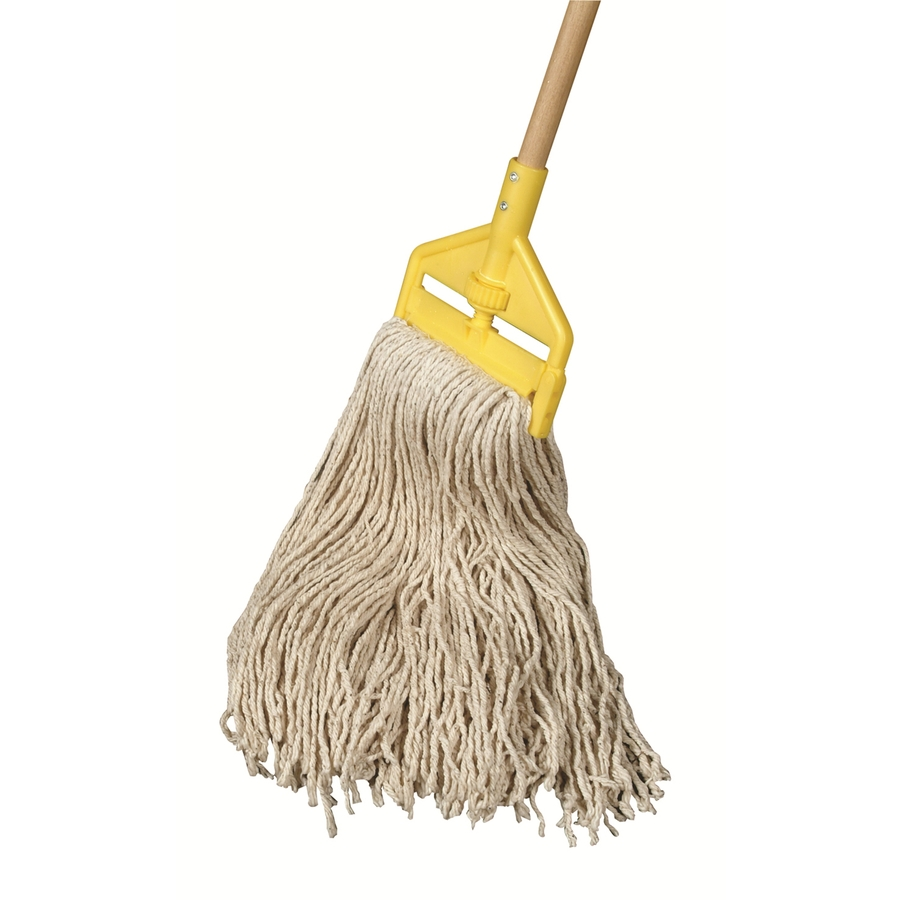 Shop Rubbermaid Commercial Products Cotton Mop With Handle