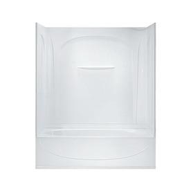 Sterling Acclaim 60.25-In White Vikrell Skirted Bathtub W...