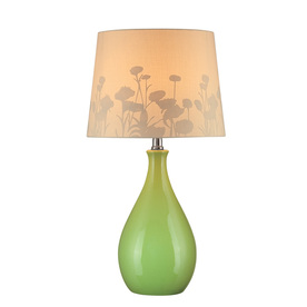 renovation ideas for bathrooms shop lite source 22 25 in green indoor table lamp with 21489
