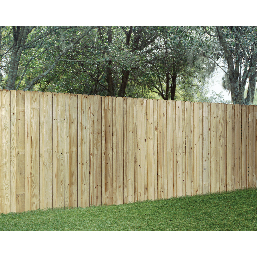 Wood Fencing Pressure Treated Board On