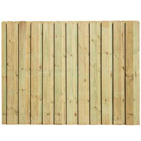 6 Ft X 8 Ft Pine Dog Ear Wood Fence Panel Shop Your Way