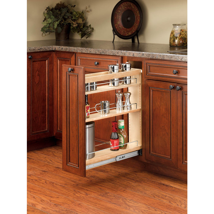 Pull Out Kitchen Cabinet Organizers: Shop Rev-A-Shelf Wood Base Organizer At Lowes.com