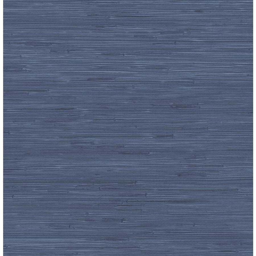 Scott Living Scott Living 30 75 Sq Ft Indigo Vinyl Textured Abstract 3d Self Adhesive Peel And Stick Wallpaper Slw3410 From Lowe S Shefinds