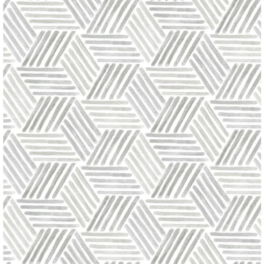 Scott Living Scott Living 30 75 Sq Ft Taupe Grey Vinyl Geometric Self Adhesive Peel And Stick Wallpaper Slw3422 From Lowe S Daily Mail