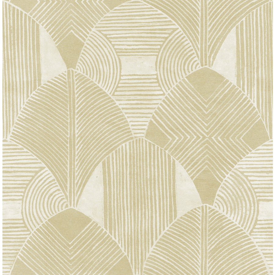 Scott Living 56 4 Sq Ft Coffee Non Woven Abstract Unpasted Wallpaper In Brown 2964 25927 Shefinds