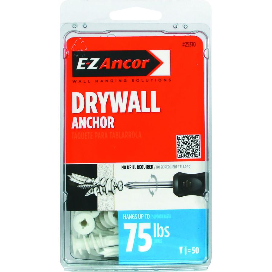 Shop E Z Ancor 50 Pack Twist And Lock Self Drilling
