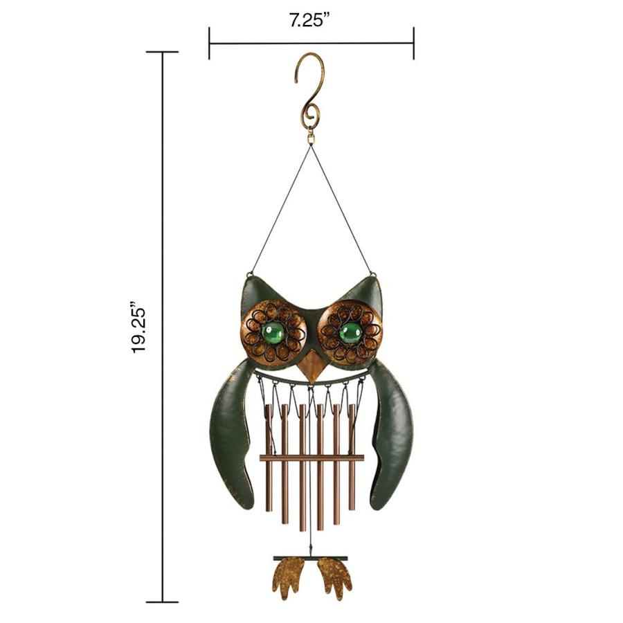 Garden Treasures 19 25 In Multi Color Metal Chime Wind Chime In The Wind Chimes Department At Lowes Com