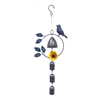 Lowes.com deals on Garden Treasures 21-in Multicolor Metal Wind Chime