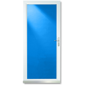 Lowes Larson Signature Series Storm Door With Brushed