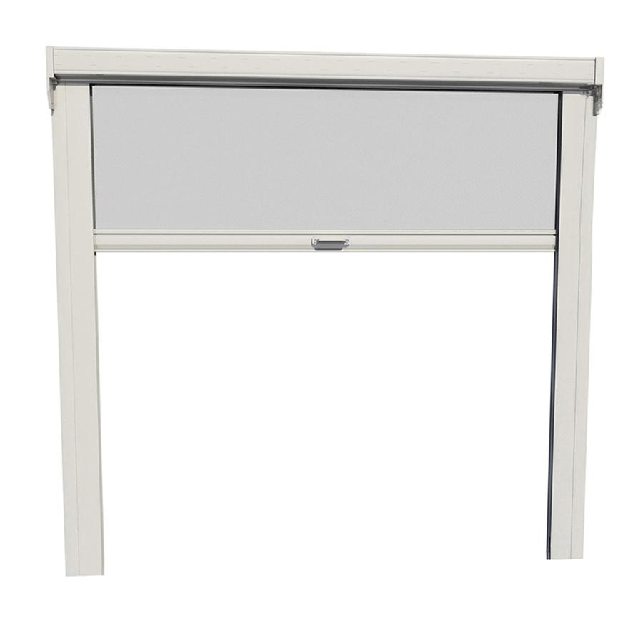 Retractable Garage Door Screen Cost: Shop LARSON Escape 96-in X 96-in White Garage Retractable