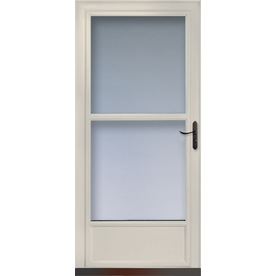 Shop Larson Tradewinds Almond Mid View Tempered Glass