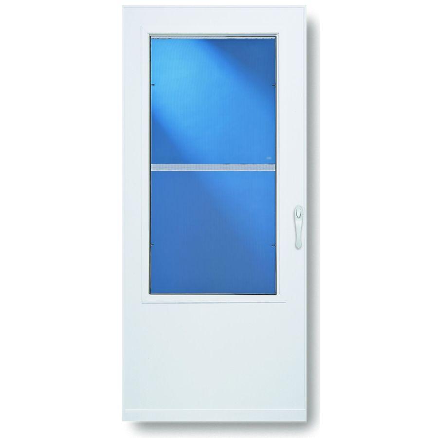 Door Store What Is A Self Storing Storm Door