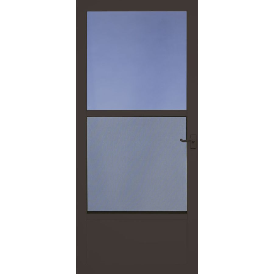 Shop Larson Southport Brown Mid View Tempered Glass