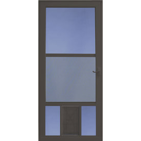 Shop Larson Petview Brown Mid View Tempered Glass Aluminum
