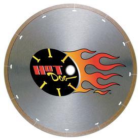 Mk Diamond 7in. Hot Dog Wet Cutting Tile Porcelain Blade 158434