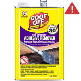 Goof Off 128-Fl Oz Semi-Paste Multi-Surface Paint Remover...