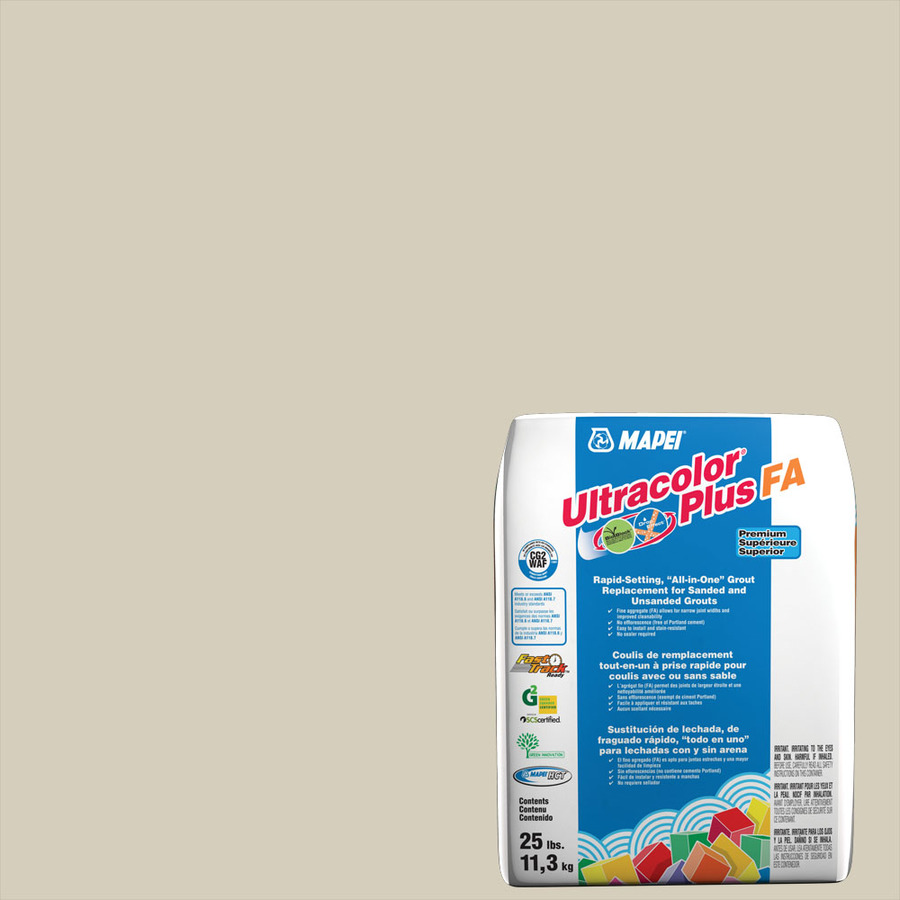 Mapei Ultracolor Plus Fa 25-Lb Biscuit All-In-One Grout 6Bu001411