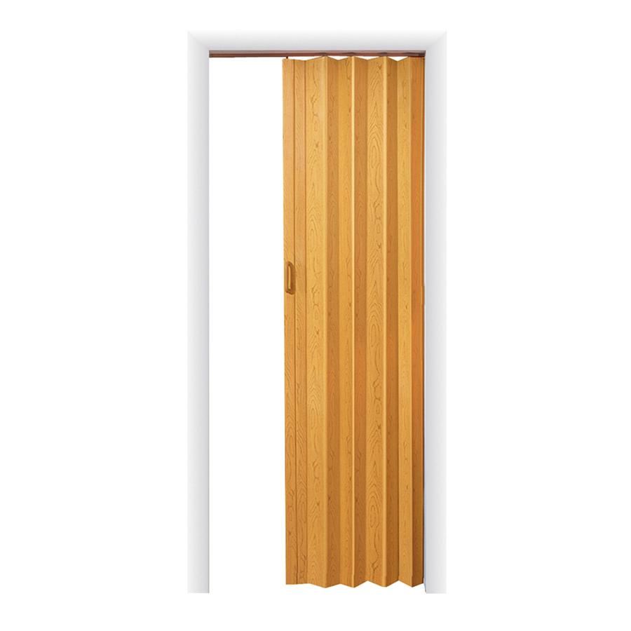 Shop Spectrum Oak Folding Closet Door Common 48 In X 96