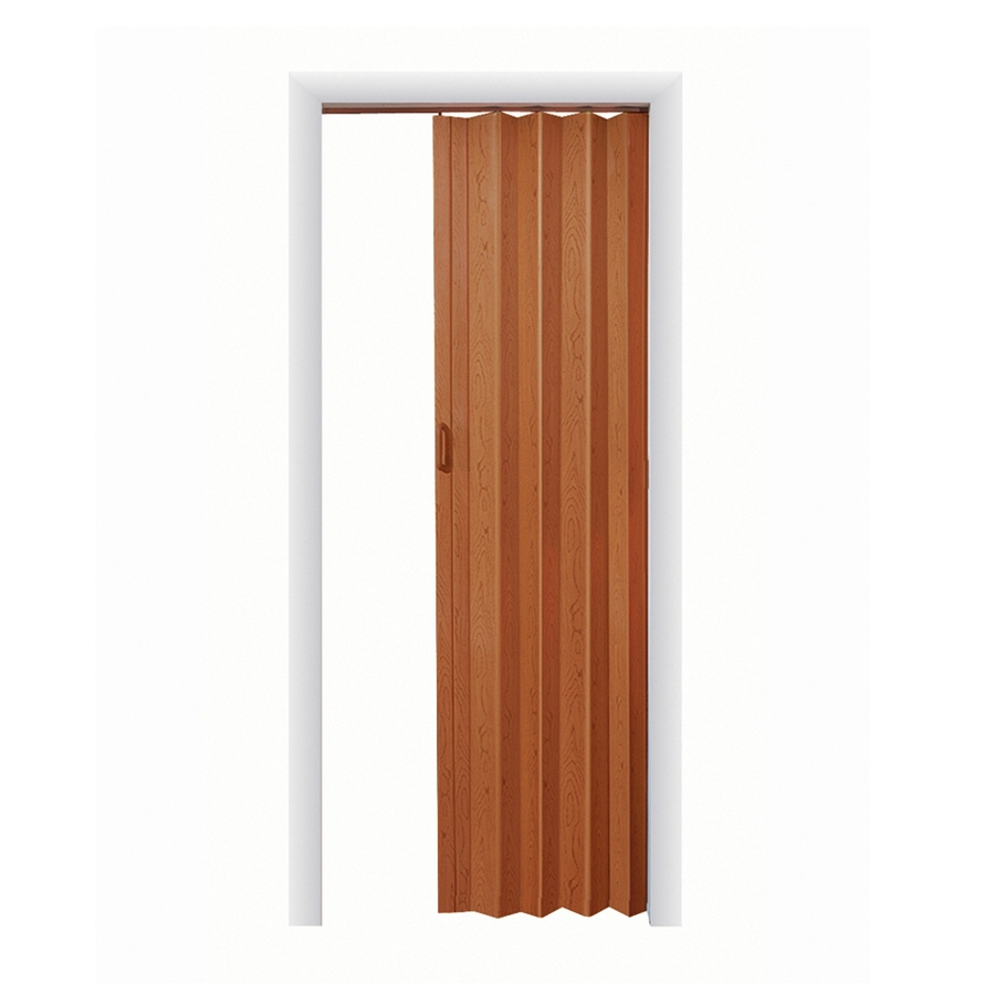 Shop Spectrum Nutmeg Folding Closet Door Common 36 In X