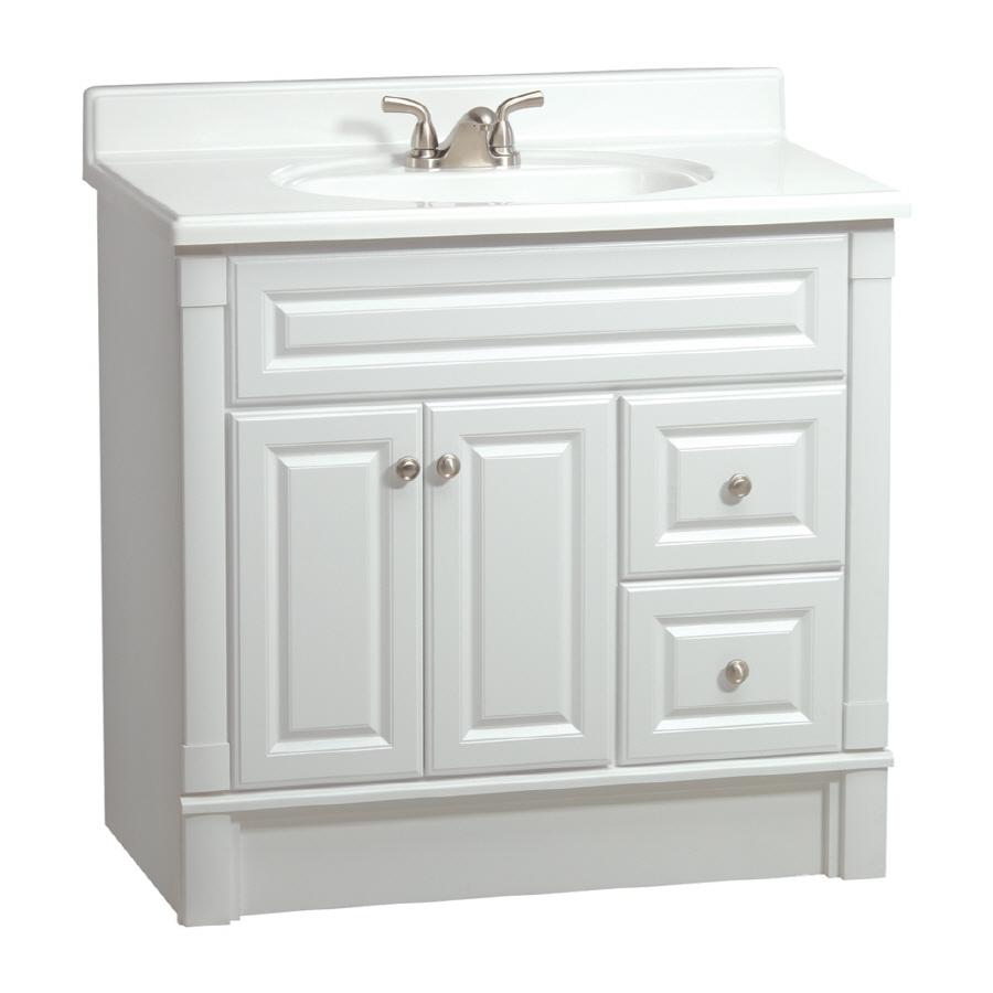 Lowes Bathroom Vanities White