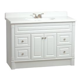 Lowes Estate By Rsi Oak Elegance Amp White Southport Bath Vanity Vanities Bathroom Furniture