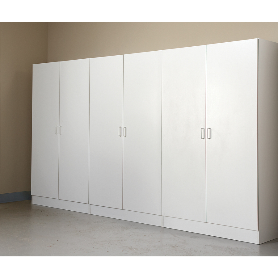 Stor-It-All 5.5-in W Wood Composite Wall-Mount Utility Storage Cabinet