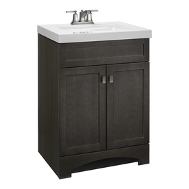 Display Product Reviews For Drayden Gray Single Sink Vanity With White Cultured Marble Top Common