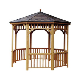 Heartland Seaside 12' Round Gazebo Without Floor 199486