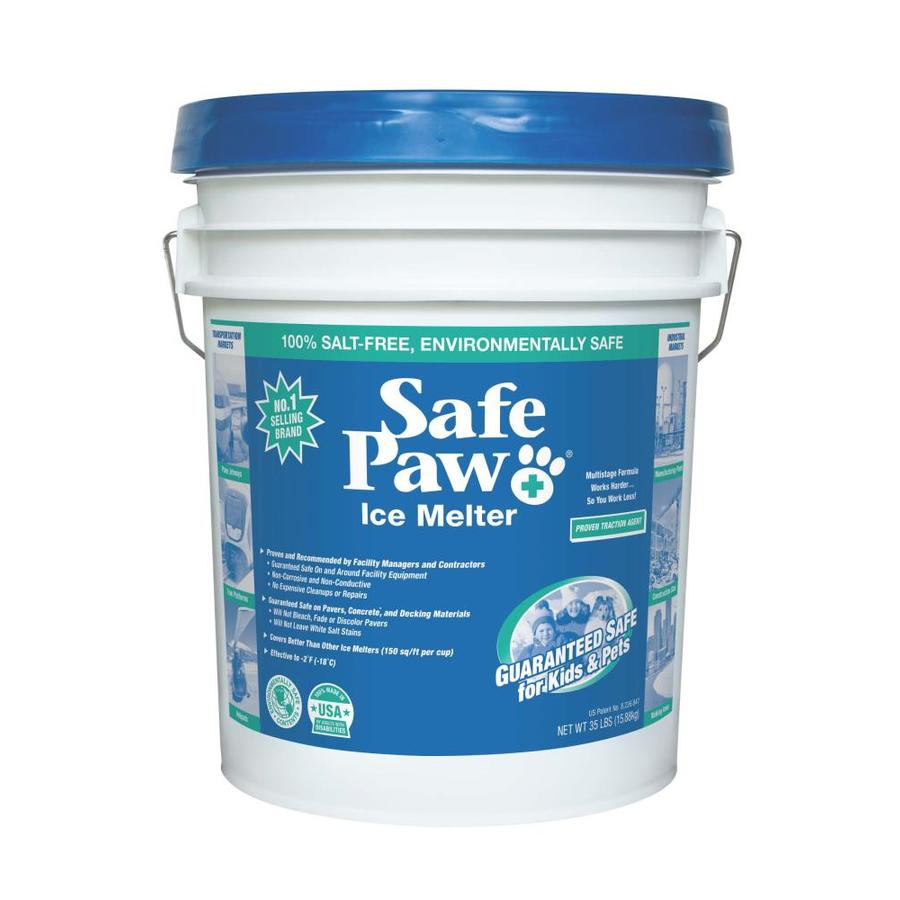 Safe Paw 35 lbs. Modified Carbonyldiamide Crystals Ice Melt | 1639243