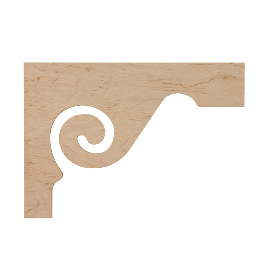 Shop Creative Stair Parts Scroll Bracket At Lowes Com